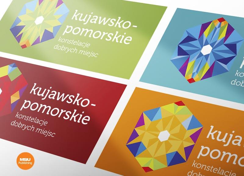 Identyfikacja wizualna dla Kujawsko-Pomorskiej Organizacji Turystycznej