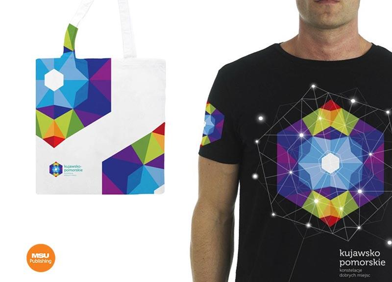 Koszulki i torby promocyjne dla Kujawsko-Pomorskiej Organizacji Turystycznej