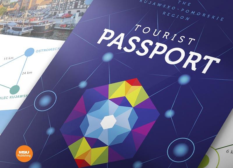 Materialy promocyjne dla Kujawsko-Pomorskiej Organizacji Turystycznej