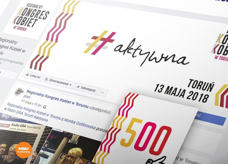 Promocja dla Regionalnego Kongresu Kobiet w Toruniu
