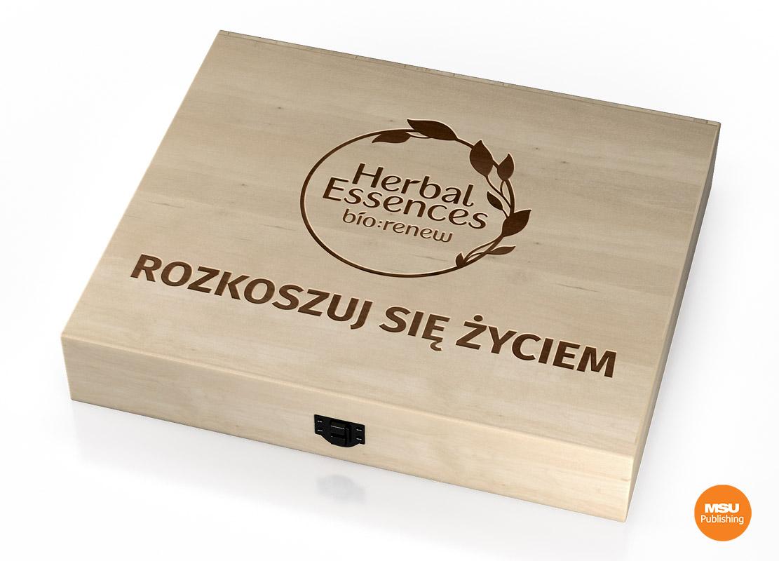 opakowanie dla Herbal Essences